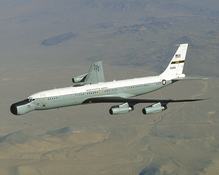 Boeing EC-135 Утконос для космической связи NASA