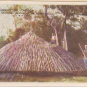 Индейская деревня, гармошка открыток, 1 кадр