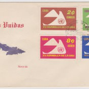 1968. С филателистической выставки в Гаване. 1 конверт