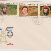 1968. С филателистической выставки в Гаване. 4 конверт