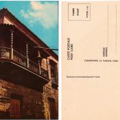 Открытка №31. Балкон в колониальном стиле.