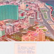 Панорама Гаваны: район Ведадо, набережная Малекон, отель «Фокса» и отель «Националь».