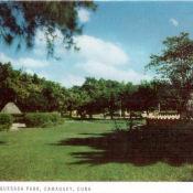 Камагуэй.  Парк Гонсало-де-Кесада
