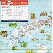1956. Карта Кубы и Гаваны. 2 лист, 1 фрагмент