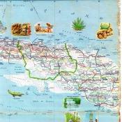 1956. Карта Кубы и Гаваны. 2 лист, 2 фрагмент