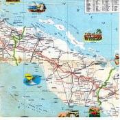 1956. Карта Кубы и Гаваны. 2 лист, 3 фрагмент