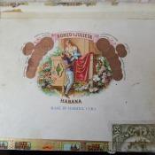 Коробка из-под сигар «Ромео и Джульетта». Вид 2.