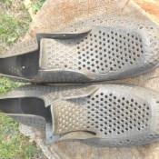 1974. Туфли на дембель. Ракурс 1.