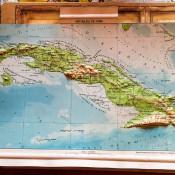 1962. Карта Кубы, сделана в Праге