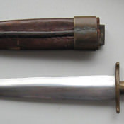 1967-1969. Нож-самоделка, фото 3