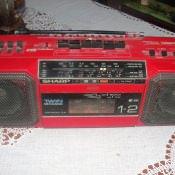 Магнитофон Sharp WQ-T281Z, 1986-1989 годы