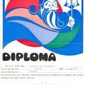 1983-05-28. Диплом. «Балтика»
