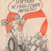 1990-03-02. Юмористический журнал Palante, «Вперед», номер 11, страница 1