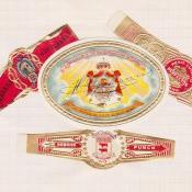 1968-1969. Коллекция наклеек на сигары, 90 экземпляр
