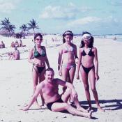 1988-1991. На пляже Санта-Мария, фото 1