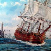 Галион 17 века
