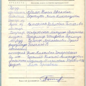 1973-1974. 6 класс. Предметы и преподаватели
