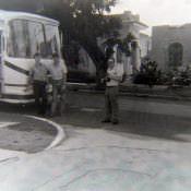 Напротив гостиницы «Амистад»