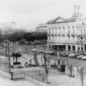 1973. Возле Капитолия