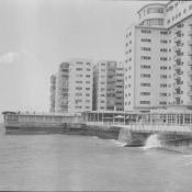 1976. Гостиницы «Рио Мар» и  «Сьерра-Маэстра», бывшая «Росита», вид сзади