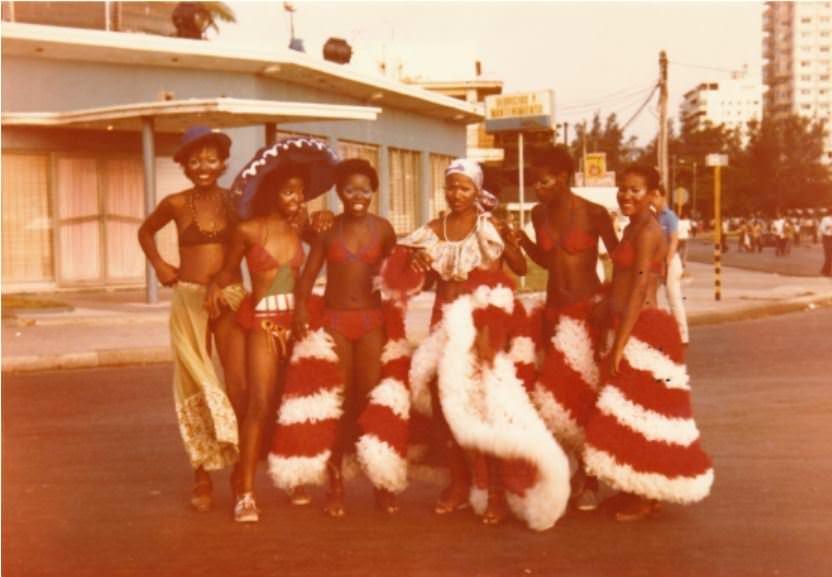 Карнавал, август 1982