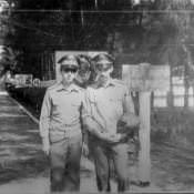 1979-1981.  Взводные первой роты
