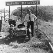 На шоссе «Гавана-Матанcас»