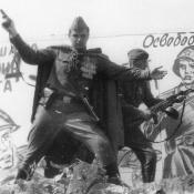 Нарокко. Представление ко Дню Победы 7 мая 1973 года.