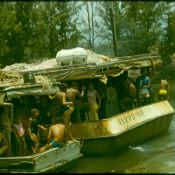 «Барка», пассажиры 1980 год.