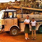 1977-1981. На фоне машины по ремонту и осблуживанию трансформаторов и электрических сетей.