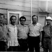 23.09.1983 г. Пунта Горда. Крайний справа - Галимский Генрих Венидиктович, инженером-монтажник.