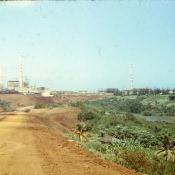 1983-1985. Дорога к строящемуся заводу Пунта-Горда.