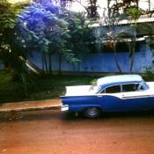 1983-1985. Раритет, старый американский автомобиль.