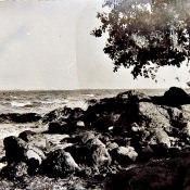 1985-1986. Берег океана у Лас-Колорадас.
