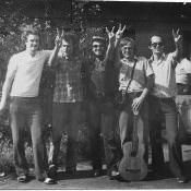1982. Группа «Ралли», поздняя осень, фото 2.