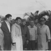 1962-12-ХХ. Бехукаль. Рауль Кастро и советские офицеры