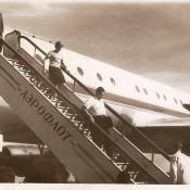 1963, октябрь. Валентина Терешкова сходит по трапу