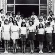 10 «В»  1976-1977  учебный год