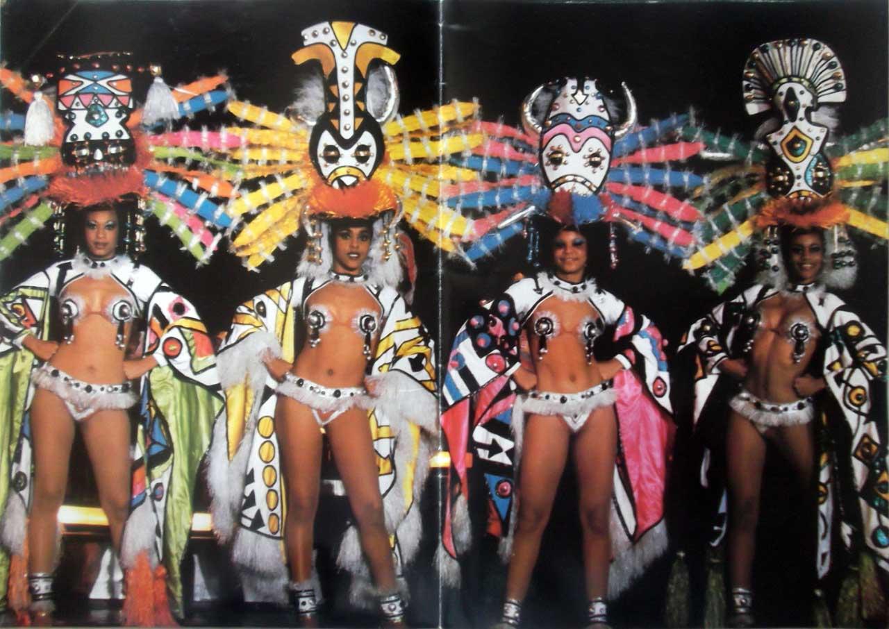 Рекламный журнал кабаре «Тропикана». 80-е годы. -18