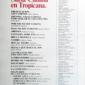 Рекламный журнал кабаре «Тропикана». 80-е годы. -01