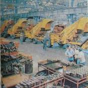 1990. Завод в Ольгине. Производство тростниково-уборочных комбайнов.