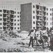 1990. Строительство пятиэтажек.
