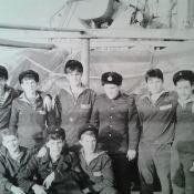 016. Боцманская команда во главе с мичманом Панковым. Ла-Манш 1983