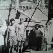 032. День ВМФ, СС «Алдан», 1983 год