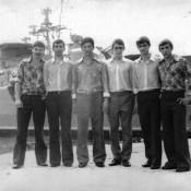 1976.08.22-27. Визит советских кораблей в Гавану, фото 3