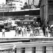 1969-07-20. Куба встречает гостей. Набережная Гаваны.