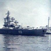 Лето 1984. Противолодочный крейсер (ПКР) [вертолетоносец] «Ленинград»