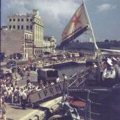 Гвардейский эскадренный миноносец «Гремящий», фото с борта БПК «Азов»