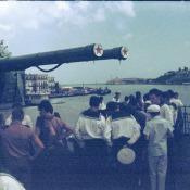 На борту гвардейского эскадренного миноносца «Гремящий»