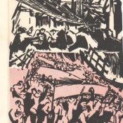 1968-1969. Пригласительный билет в испанский центр №2, часть 1